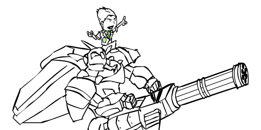 FANART - Microsoft Metal Wolf Chaos by hykez87