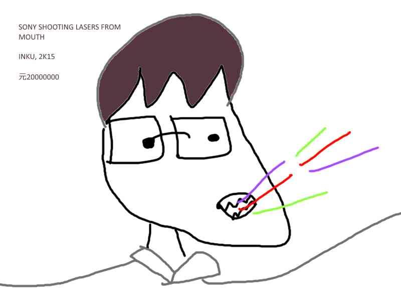 FANART - Sony Lasers by inky