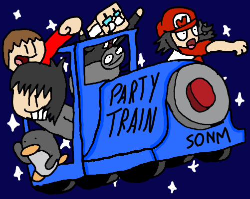 FANART - PARTY TRAIN by Master Moron