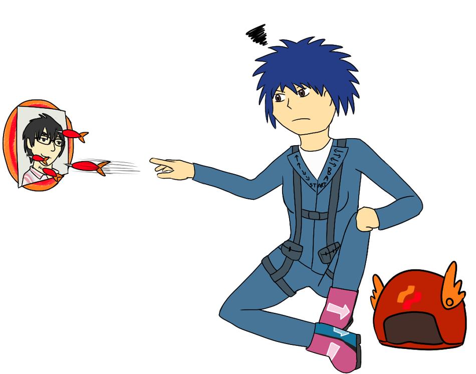 Annoyed Konami